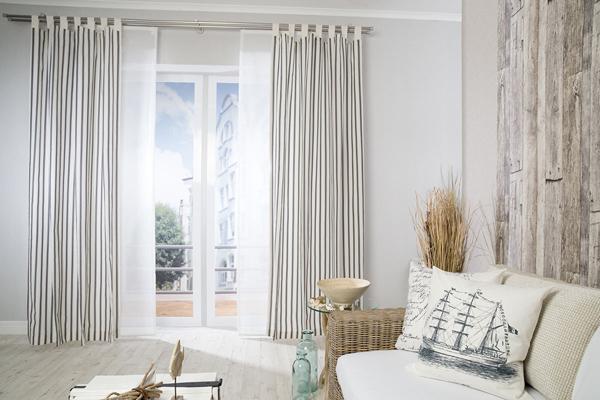 maritime stoffe. Black Bedroom Furniture Sets. Home Design Ideas